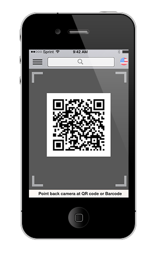 Customer feedback request via QR Code